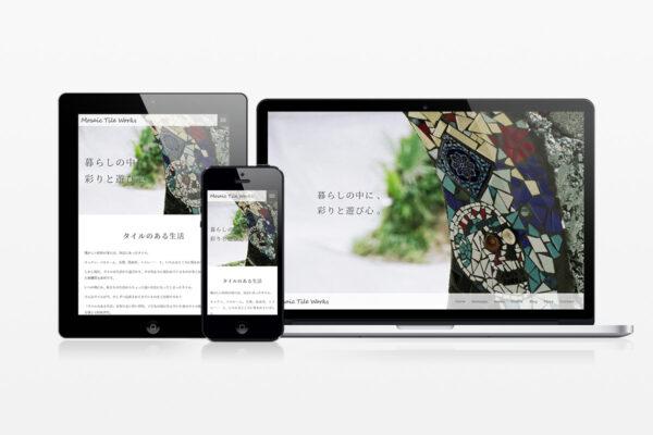 Mosaic Tile Works(モザイクタイルワークス) – Webサイト制作